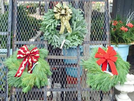 We have all sizes Cemetery sprays, bundles, logs, & much more!! Nice & fresh